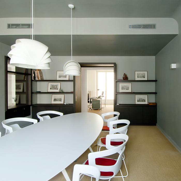 salle de réunion design pour des bureaux