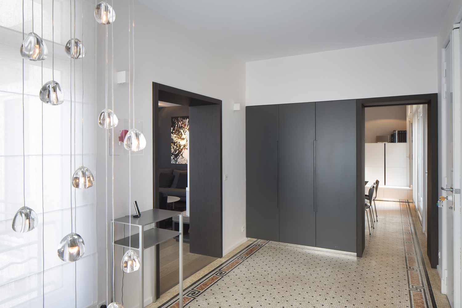 Avant apr stexier soulas architectes interieur paris for Amenagement hall d entree