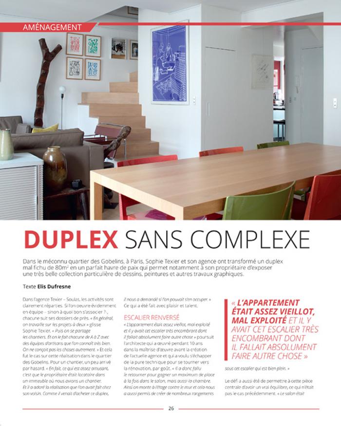 publication magasine 7e Sens