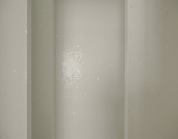 Une surface de mosaique de très petit format
