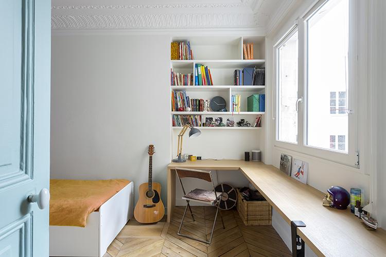 rénovation-appartement-paris 9 - chambre enfant
