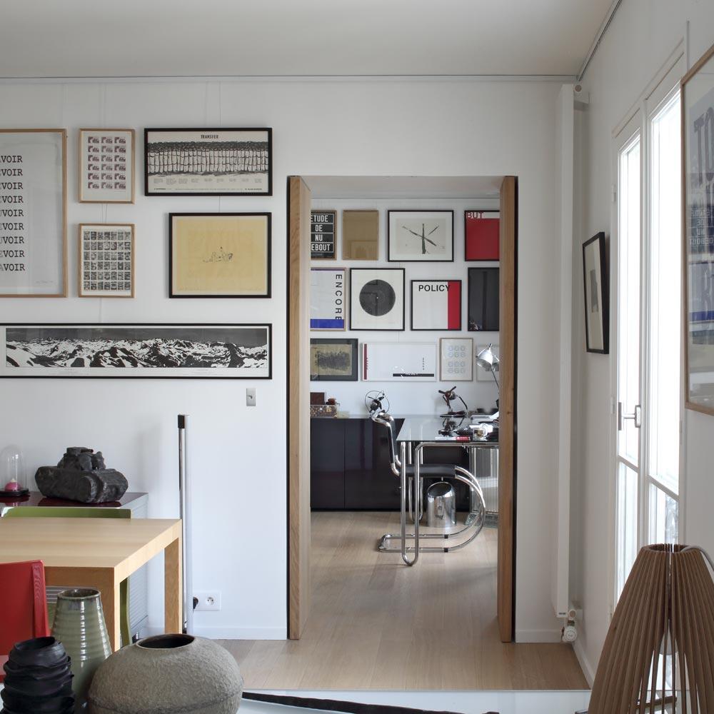 appartement collectionneur tableaux