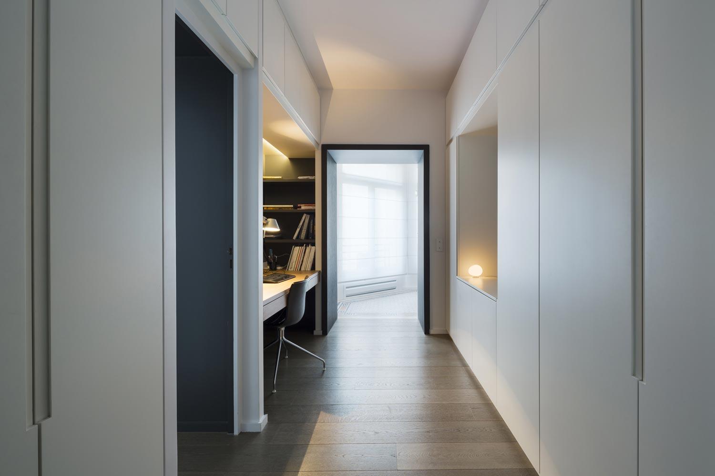 bureau niche couloir
