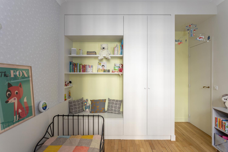 chambre enfant jaune pale