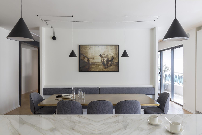 banquette enfilades architectes