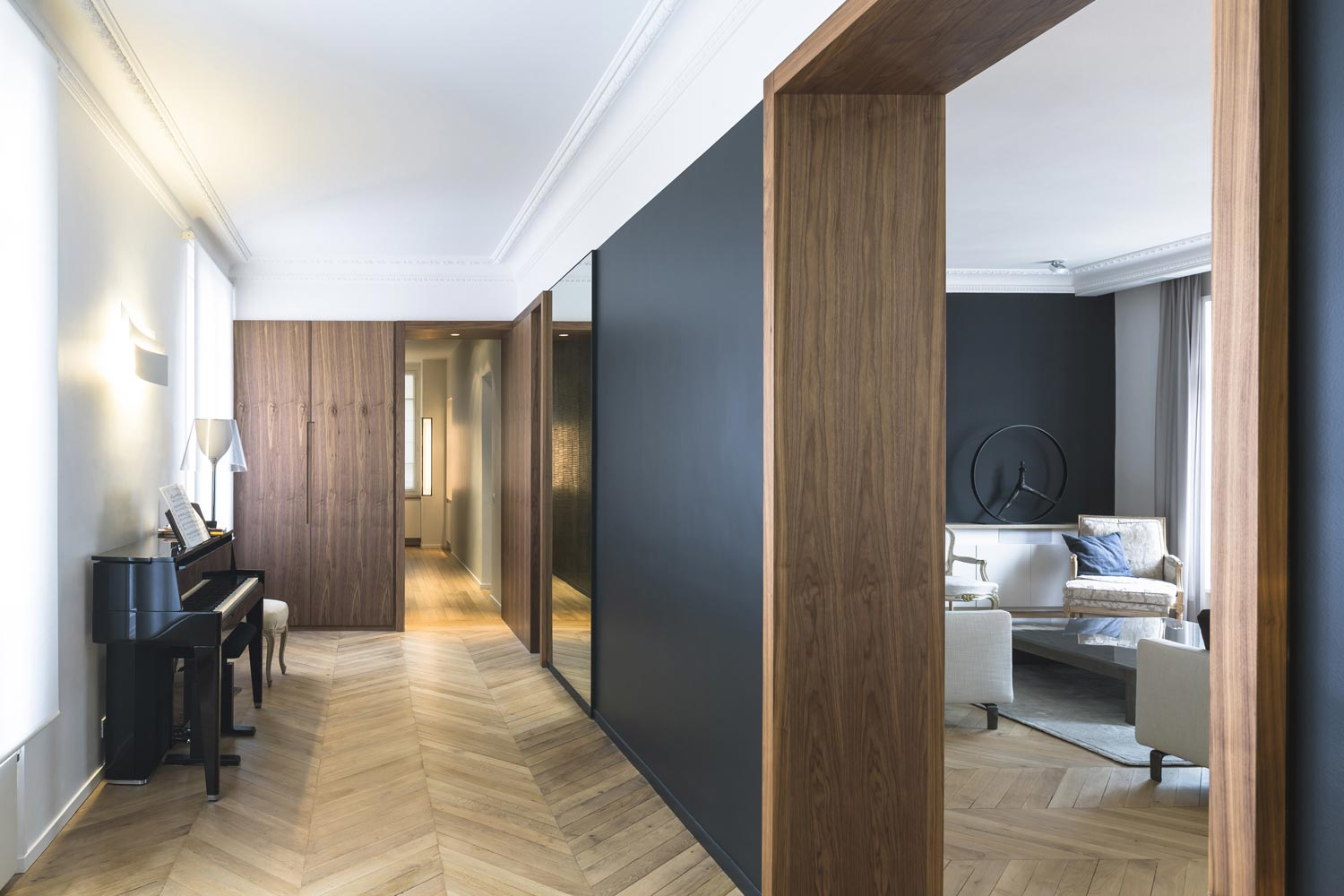 hall noyer passages contrastes