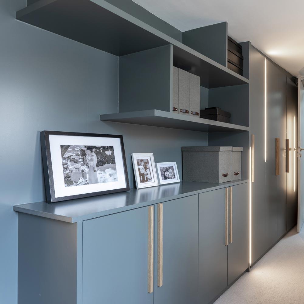 lumieres verticales couloir bureau dressing