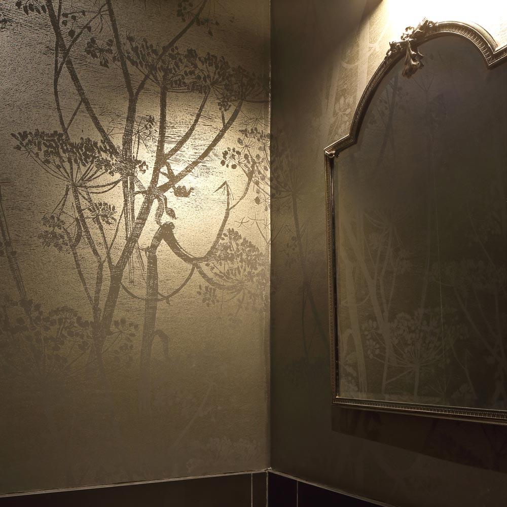 toilettes papier peint parsley