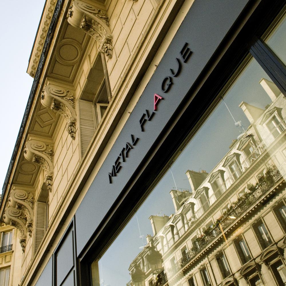 boutique haussmannien vitrine